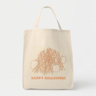 Happy Halloween Pumpkins & Corn Stalks bags