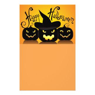 Happy Halloween Pumpkins Flyer