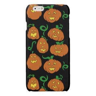 Happy Halloween Pumpkins Glossy iPhone 6 Case