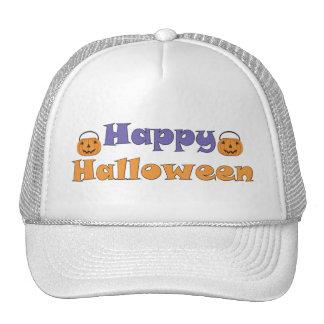 Happy Halloween Pumpkins Hat