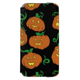Happy Halloween Pumpkins iPhone 6/6s Wallet Case