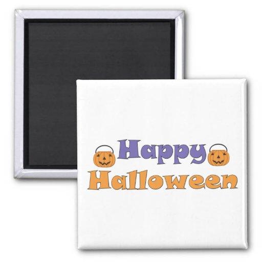 Happy Halloween Pumpkins Magnet