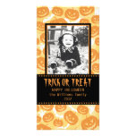 Happy Halloween | Pumpkins Personalized Photo Card