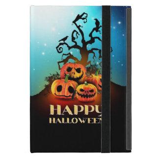Happy Halloween! Pumpkins to under to creepy tree! Cover For iPad Mini
