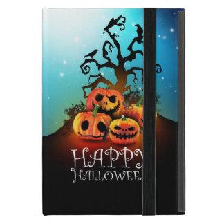 Happy Halloween! Pumpkins to under to creepy tree! iPad Mini Case