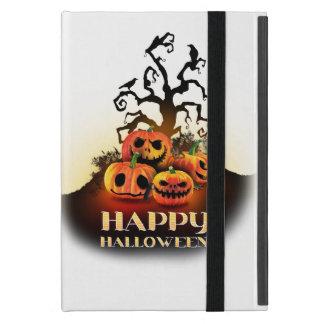 Happy Halloween! Pumpkins to under to creepy tree! iPad Mini Cases