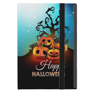 Happy halloween! Pumpkins to under to creepy tree! iPad Mini Cover
