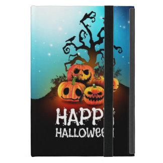 Happy halloween! Pumpkins to under to creepy tree! iPad Mini Covers