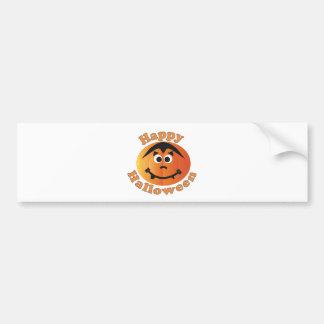 Happy Halloween Punkin Car Bumper Sticker