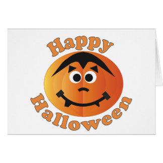 Happy Halloween Punkin Card