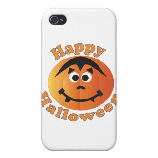 Happy Halloween Punkin Case For iPhone 4
