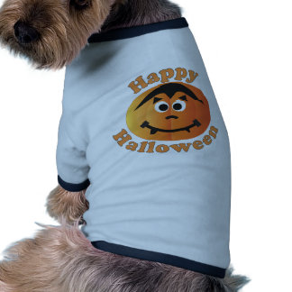 Happy Halloween Punkin Dog T Shirt