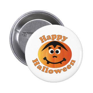 Happy Halloween Punkin Pinback Button