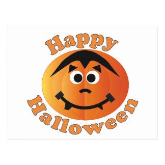 Happy Halloween Punkin Postcard