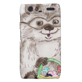 Happy Halloween Raccoon Motorola Droid RAZR Covers