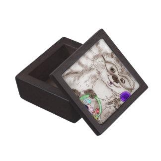 Happy Halloween Raccoon Gift Box