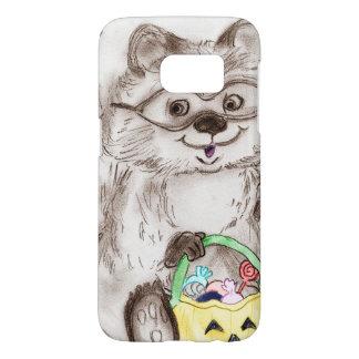 Happy Halloween Raccoon Samsung Galaxy S7 Case