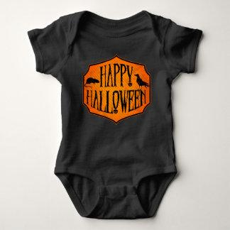 Happy Halloween Raven & Rat Baby Bodysuit