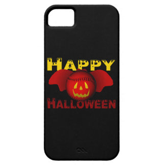 Happy Halloween Red Baseball Bat iPhone SE/5/5s Case