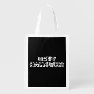Happy Halloween Reusable Grocery Bag