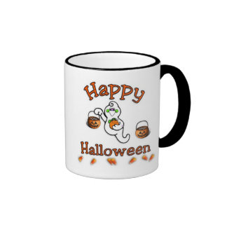 Happy Halloween Ringer Mug
