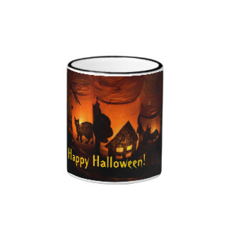 Happy Halloween! Ringer Mug
