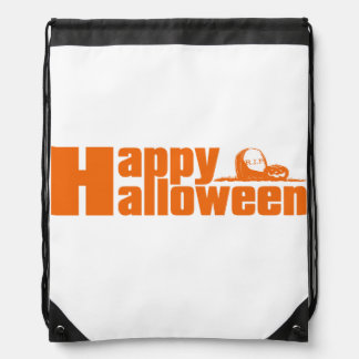 Happy Halloween RIP Pumpkin Candy or Costume Bag