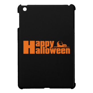Happy Halloween RIP Pumpkin iPad Mini Cover