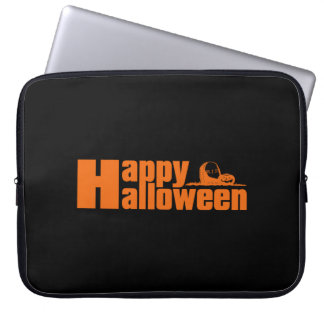 Happy Halloween RIP Pumpkin Laptop Sleeve
