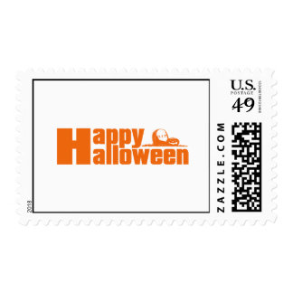 Happy Halloween RIP Pumpkin Postage