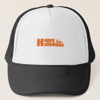 Happy Halloween RIP Pumpkin Trucker Hat
