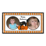 Happy Halloween Scardy Cat Photo Cards