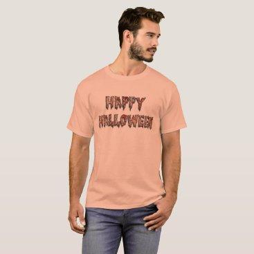 USA Themed Happy Halloween Scarey Costume Tee Shirt