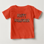 Happy Halloween Scarey Costume Tee Shirt