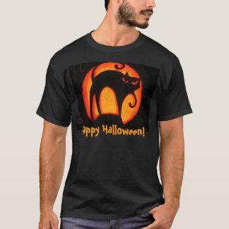 Happy Halloween! Scary Cat T-shirt