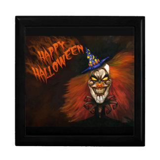 Happy Halloween Scary Clown Jewelry Box
