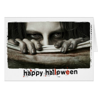 Happy Halloween scary Photography Card