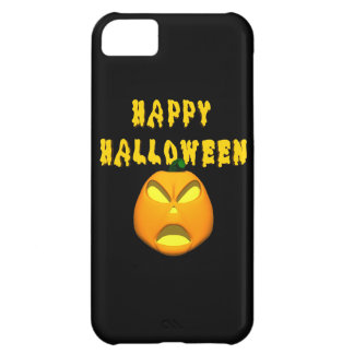 happy halloween scary pumpkin cover for iPhone 5C