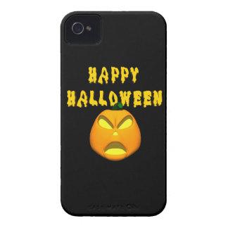 happy halloween scary pumpkin iPhone 4 cover