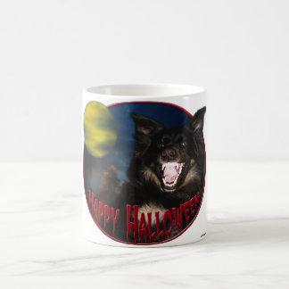 Happy Halloween Scary Wolf Coffee Mug