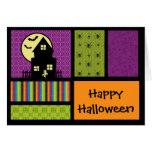 Happy Halloween Scrapbook Style Greeting Card