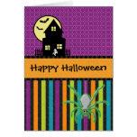 Happy Halloween Scrapbook Style Greeting Cards