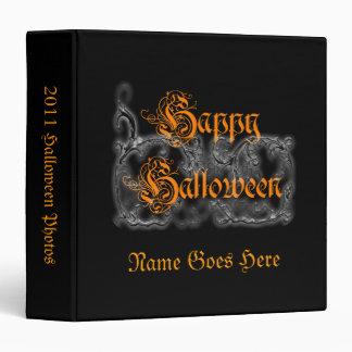 Happy Halloween Scrolls Binder