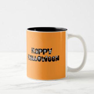 Happy Halloween Sculls Mug