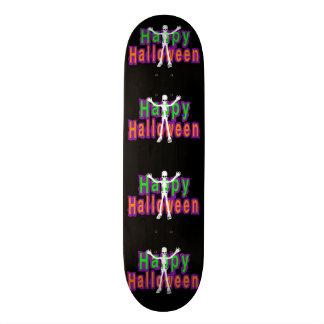Happy Halloween Skeleton Skateboard Decks