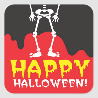 Happy Halloween skeleton Sticker