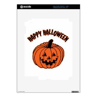 Happy Halloween iPad 2 Decals