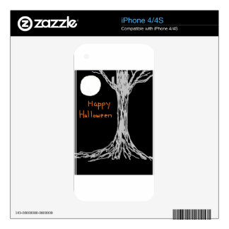 HAPPY HALLOWEEN DECALS FOR THE iPhone 4