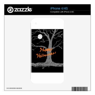 HAPPY HALLOWEEN iPhone 4 DECAL