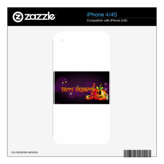 Happy Halloween Decal For The iPhone 4
